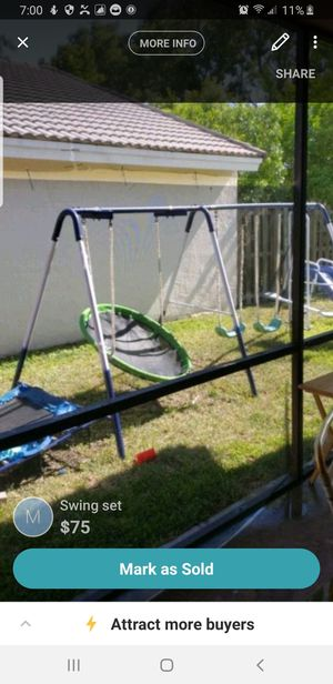 Swing set a little damage for Sale in Southwest Ranches, FL