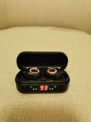 Bluetooth True Wireless Earphone 5.0 Earbuds Waterproof Music Headset for Sale in Walnut, CA
