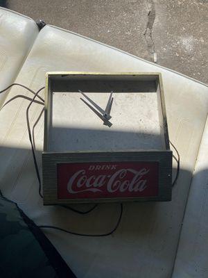 Antique Coca-Cola clock. for Sale in Chicago, IL