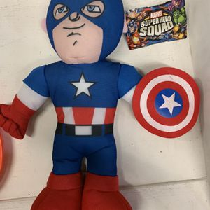 Captain America Plush for Sale in Buena Park, CA