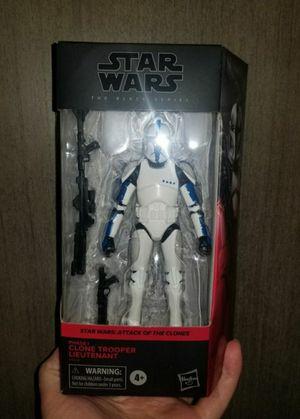 black series clone trooper lieutenant for Sale in South Gate, CA