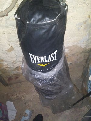 Everlast heavy bag and speed bag with stand for Sale in Philadelphia, PA