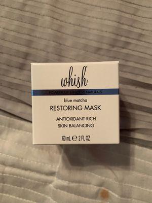 Whish Blue Matcha Restoring Face Mask for Sale in Riverside, CA