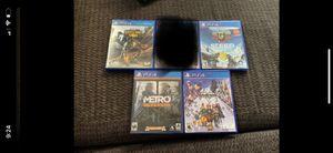 PS4 games for Sale in Gardena, CA