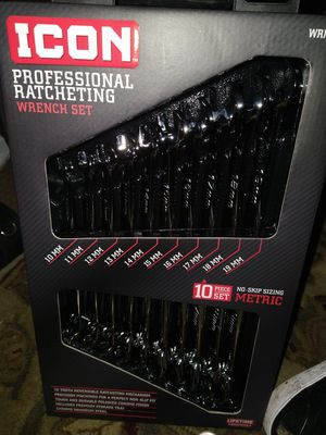 Brand new metric wrenches professional ratcheting life time gaurantee for Sale in Oregon City, OR