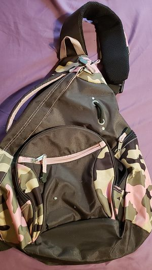 Pink Brown Camouflage Backpack/Bookbag for Sale in Chicago, IL