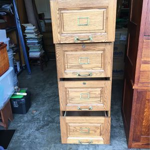 Four Drawer File Cabinet for Sale in Sherwood, OR