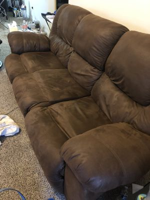 3-seat sofa with recliners for Sale in Henderson, NV