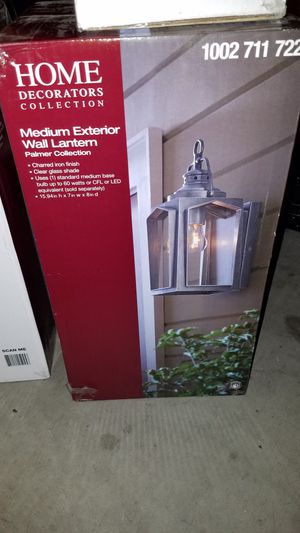 Two medium and one small external wall light for Sale in Phoenix, AZ