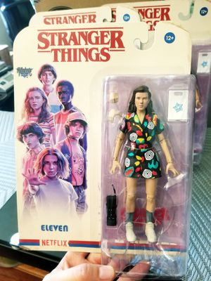Stranger Things 3 ELEVEN action figure Mcfarlane toys for Sale in Los Angeles, CA