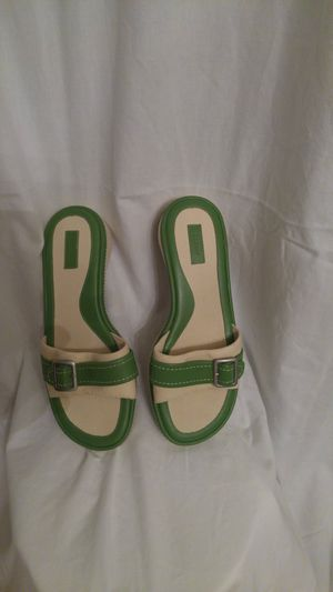 L.L. Bean Classics: Hunter Green and Canvas Slides for Sale in Baltimore, MD
