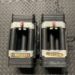 Adjustable Dumbbells 10-50 lbs Weights for Sale in Los Alamitos, CA