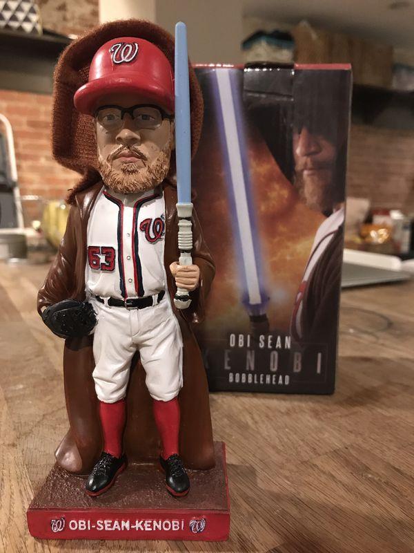 2019 Obi-Sean Kenobi (Sean Doolittle) Washington Nationals Bobblehead