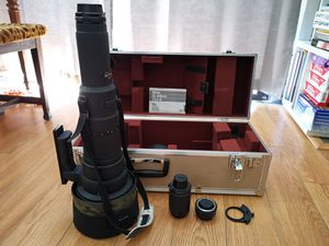 Nikon ais 800mm f5.6 ed if with Wimberley gimbal tripod for Sale in Rancho Cucamonga, CA