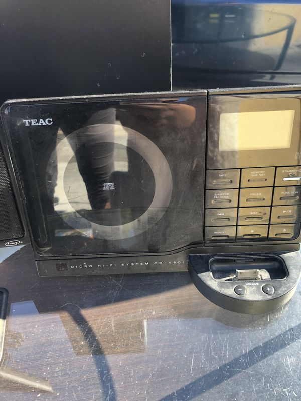 CD player and iPod player