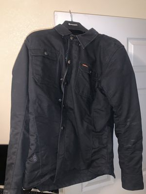 Motorcycle jacket and gloves for Sale in Orosi, CA