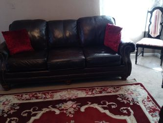 Leather Sofa and Recliner Very Comfortable for Sale in Denver,  CO