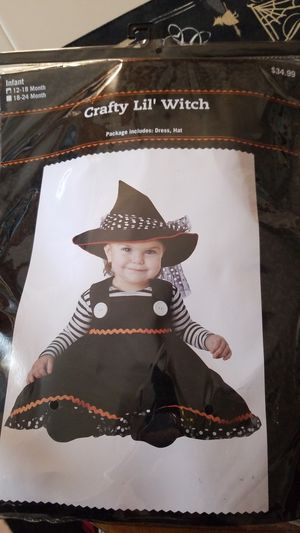 Brand new never used witch costume for Sale in Fortville, IN