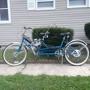 Motorized 2 seater bicycle for Sale in Neptune City, NJ