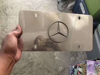 Mercedes Benz Front Car Tag for Sale in Charlotte,  NC