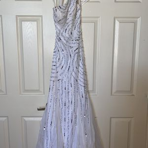 White Prom Dress for Sale in Miller Place, NY