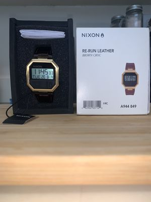 NIXON RERUN CROC/ BASICALLY NEW $85 for Sale in Silver Spring, MD