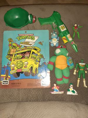 Ninja turtles, vintage toy lot for Sale in Fort Worth, TX