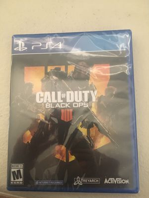 Call of duty: black ops 4. PS4 for Sale in Bothell, WA