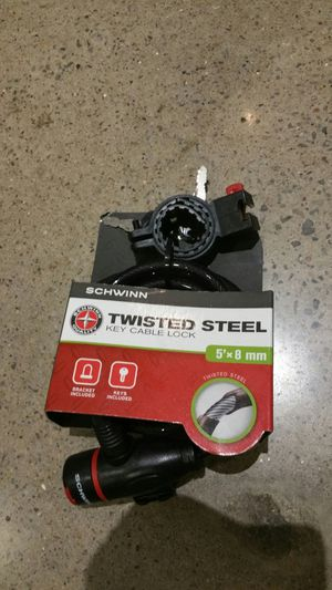 Steel bike lock for Sale in St. Louis, MO