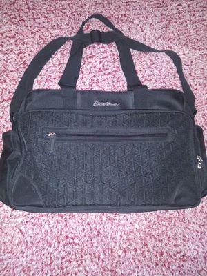 Eddie Bauer Unisex Diaper Bag, Adjustable Strap, Clean for Sale in Victoria, TX