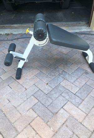 Ab Back Hyper bench Hoist fitness workout bench for Sale in FL, US