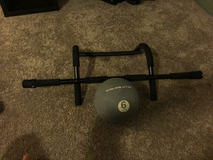 Work out set medicine ball 6lbs for Sale in Culver City, CA