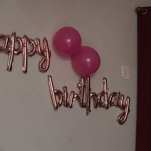 Rose Gold Happy Birthday Balloons for Sale in Miami, FL