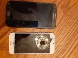 For Parts Galaxy note 2 and iPhone 6s for Sale in Scottsdale, AZ