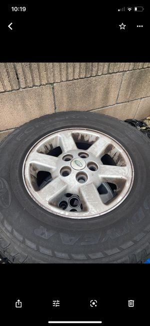 Land Range Rover discovery wheels rims for Sale in La Habra Heights, CA