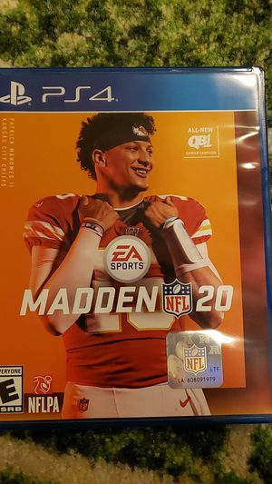 Madden 20 for PS4 for Sale in Snohomish, WA