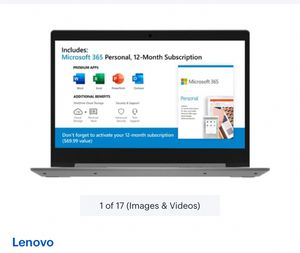 Laptop lenovo ideapad ( new) for Sale in Sugar Land, TX