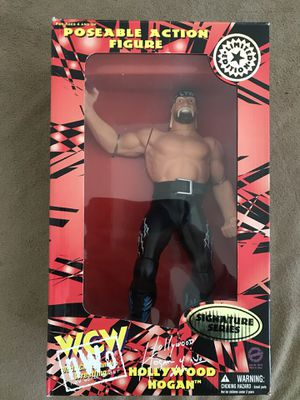 Hollywood Hogan (WCW) Posable Action Figure (1998) - New for Sale in Temecula, CA
