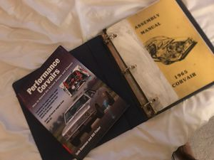 Corvair manuals for Sale in Pikesville, MD