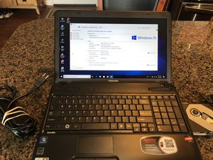 Laptop Toshiba Satellite C655D-S5113. Warranty for Sale in Tacoma, WA