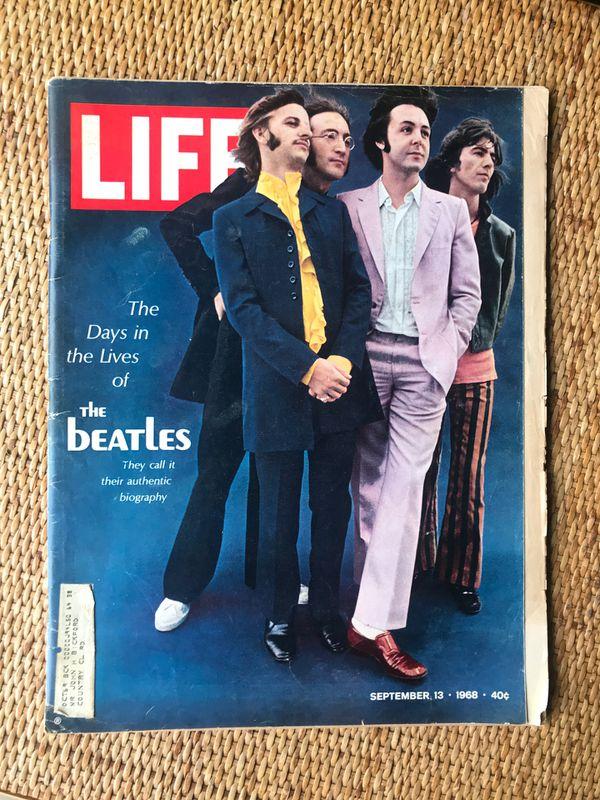 LIFE magazine- Sept 13, 1968 BEATLES