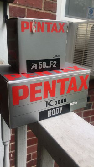 Pentax K1000 + 50mm Lens (Film Camera) for Sale in Baltimore, MD