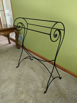 Wrought iron Blanket stand for Sale in Ada, MI