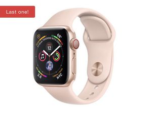 Apple Watch Series 4 44mm Gold Aluminum Case with Pink Sand band. BRAND NEW in the box. for Sale in Detroit, MI