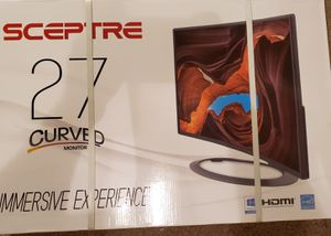 """Sceptre 27"""" 1080 curved gaming monitor for Sale in Phoenix, AZ"""