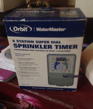 Orbit 4station sprinkler timer for Sale in Ripon, CA