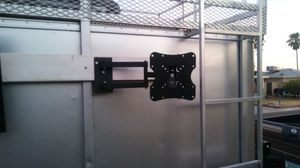 TV wall mount swim heavy-duty two arms fit 22-42 in also we do installation for for Sale in Scottsdale, AZ