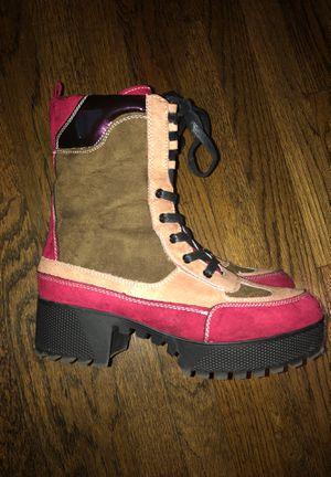 Multi colored platform boots for Sale in Atlanta, GA