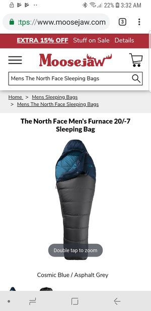 The Northface sleeping bag for Sale in Lakewood, CA