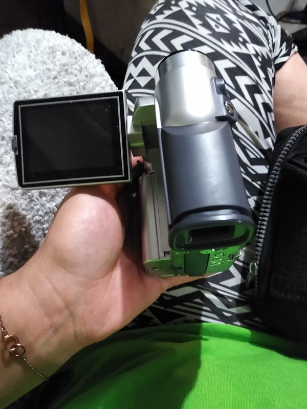 Camera, video & voice recorder with SD & charger